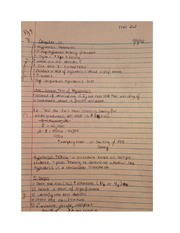 ECON 262 Chapter 10 Class Notes