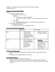 Chapter2PersonalityAssessmentMeasurementandResearchDesign.docx