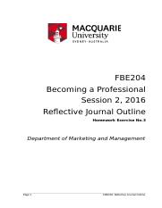 2016 FBE204 Reflective Journal s2