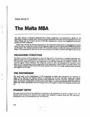 The Malta MBA
