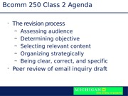 Email-Message Content (Class 2)