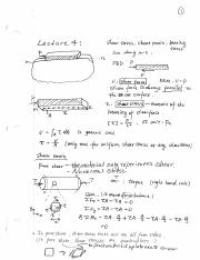 Lecture 4 Shear Stress and Strain 20150904094614370