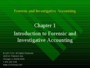3Ed_CCH_Forensic_Investigative_Accounting_Ch01