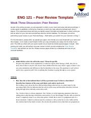 Week 3 Discussion 2 Peer review.docx