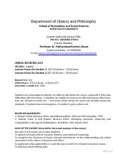 PHI 401BUSINESS ETHICS ( Section 1 and 2,  Spring Semester 2019).docx