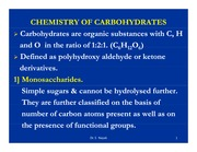 MDSC1001_Carbohydrates