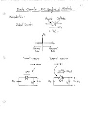 CH 1 Part 2 Diode Circuits