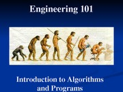 01 - Introduction to Algorithms and Programs