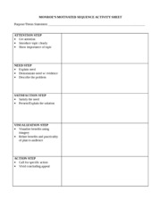 thesis statement activity sheet Writing handout e-13: writing an effective thesis statement a thesis statement  helps unify a paper it should summarize the main point and.