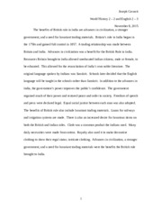 India Expository Paragraph