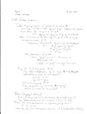 Algebra 1 lecture notes 4