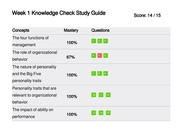 MGT 312 Week 1 Knowledge Check