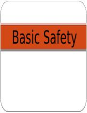 Basic Safety Unit.pptx