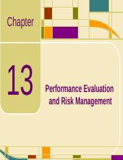 Chap13_Performance Evaluation and Risk Management.ppt