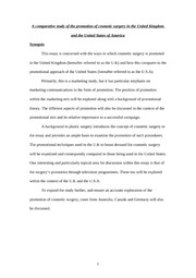 Dissertation synopsis ethics