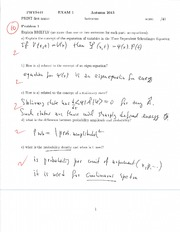 Midterm Exam 1 Fall 2013 Solutions