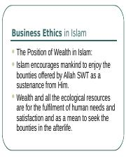 Business Ethics in Islam.ppt