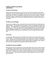 king lear and the stone angel compare and contrast essay peace 2 pages a battle for global values opinion