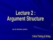 EG1413 Lecture 2