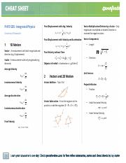 PHYS1205 Integrated Physics Cheatsheet.pdf