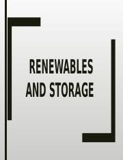 9-Renewables and Storage