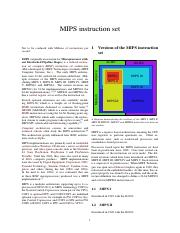 Lecture 4 - Reading - MIPS instruction set.pdf