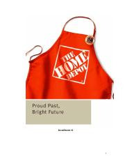 Home Depot STRATEGY AUDIT.doc