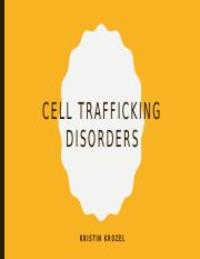 Cell Trafficking Disorders.pptx