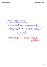 11 10 vector operations