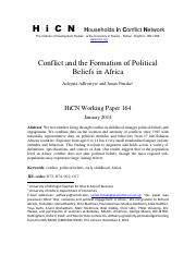 Conflict and the Formation of Political.pdf