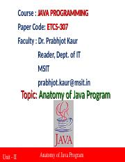 2_1 lecture_java Anatomy.ppt