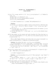 worksheet 3 solutions