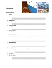 module 6 notes Topographic Maps