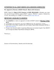 MUET_March2016_AppealReview
