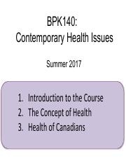 BPK140 2017-2 Wk01 Introduction and the Concept of Health.pdf