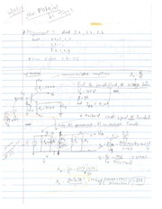 Small-signed AC Voltage Gain Notes