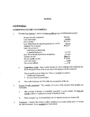 CH3 Notes Tax 4011