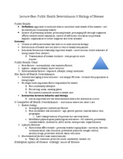 Study Guide for Lecture 1