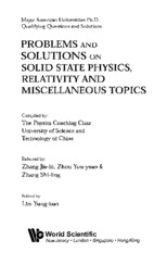 Problems and Solutions on Solid State Physics, Lim Yun Kou