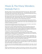 MUS Melodies.docx