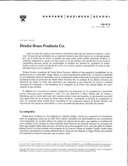 destin brass case Destin brass product case solution - destin brass product created metal gear, for example, valve, pumps and stream controller the firm utilized standard unit.