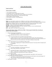 UNIT I Review Notes-1.docx