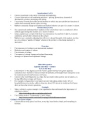International Marketing Chapter 4 Notes