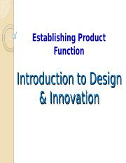 Concept Embodiment Concept Embodiment Kevin Otto And Kristin Wood Product Design Techniques In Reverse Engineering And New Product Development 1 E Course Hero