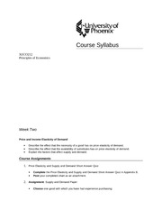 economics syllabus university of pheonix