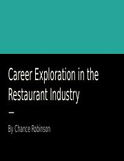 Career Exploration in the Restaurant Industry.pptx
