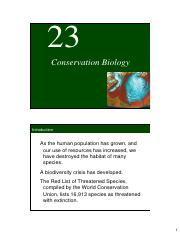 23_Conservation_Biology