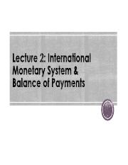 L2. International Monetary System & BOP - Ch.2&3.pdf