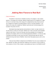 marketing project redbull