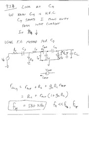 transverse capacitance and a design example
